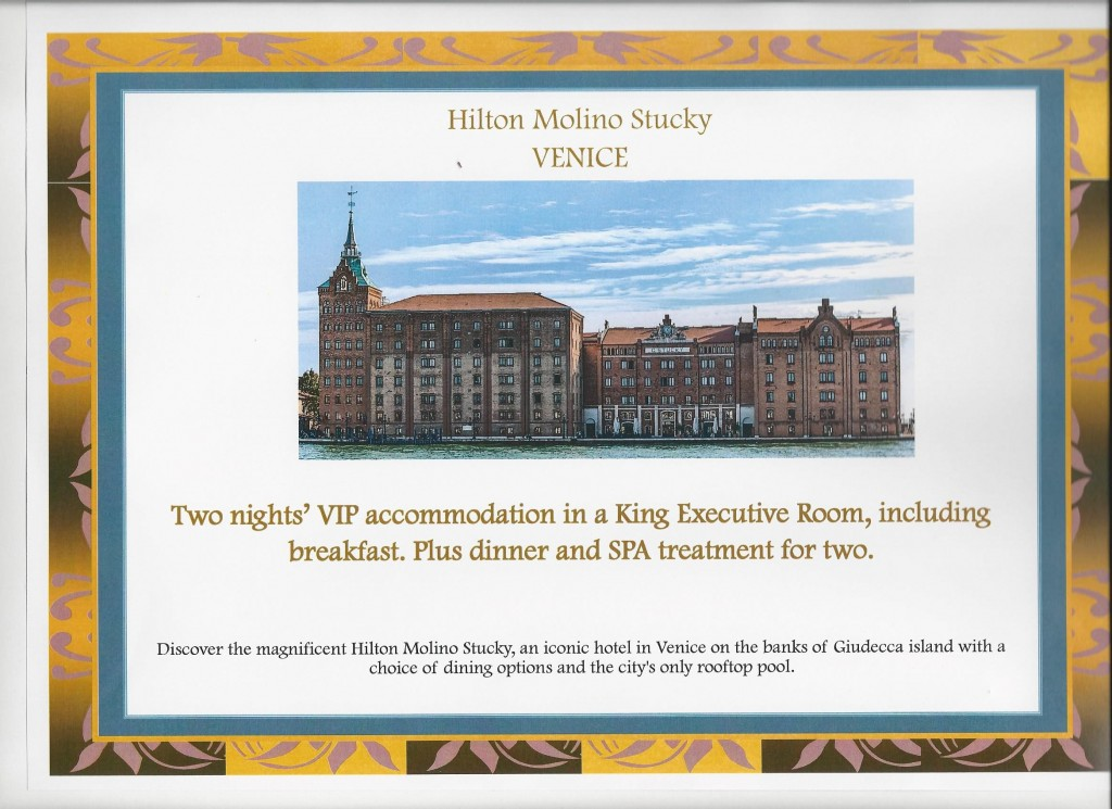 Square Events - Hilton Molino Stucky, Venice