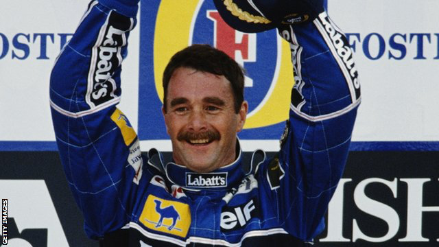 Square Events - Nigel Mansell