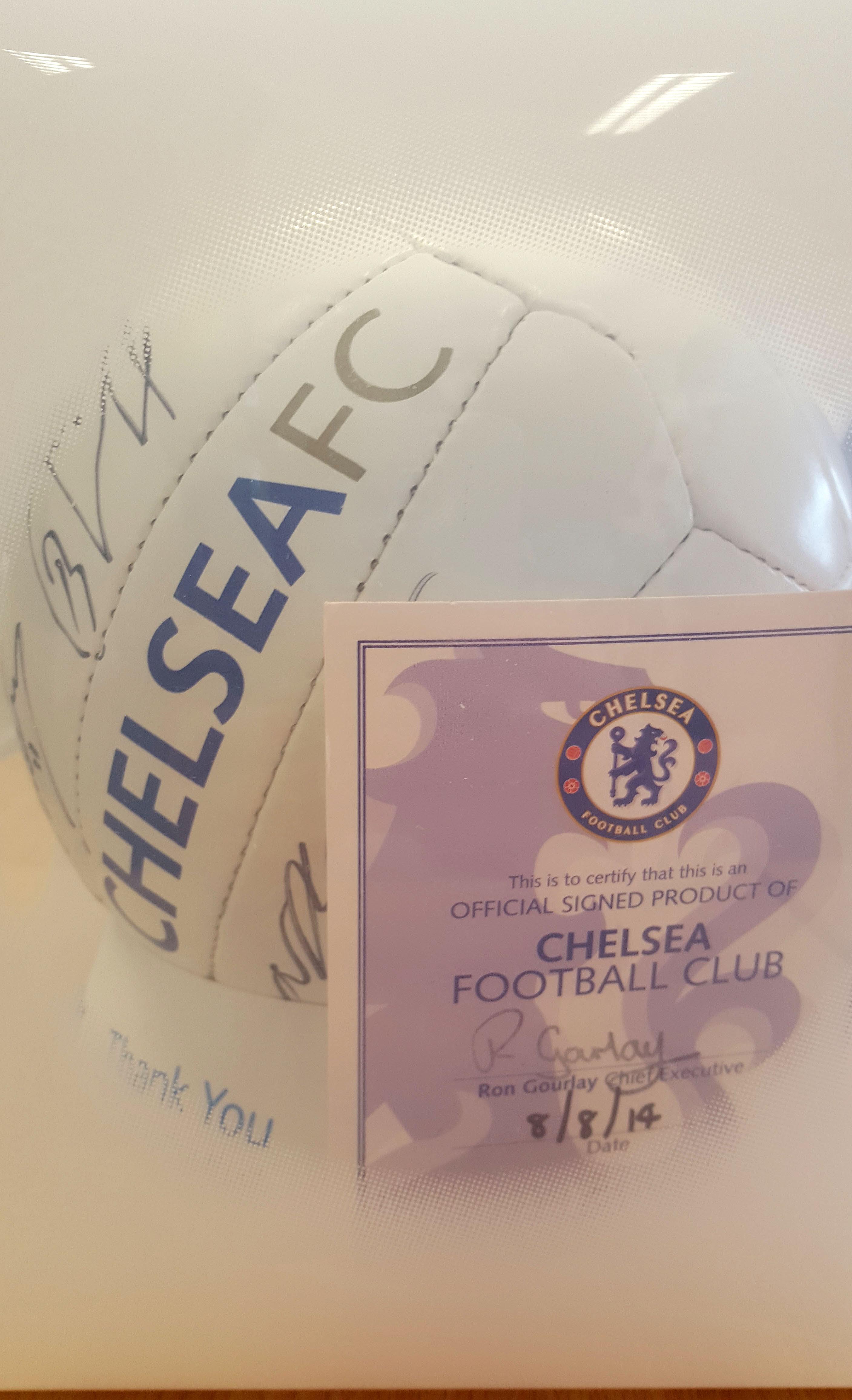 Chelsea Football.