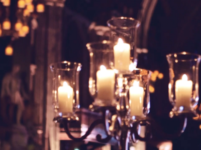 Square Events - candles imagery