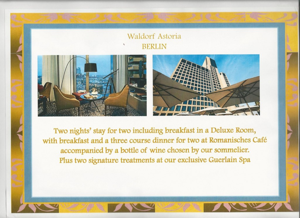 Square Events - Waldorf Astoria, Berlin