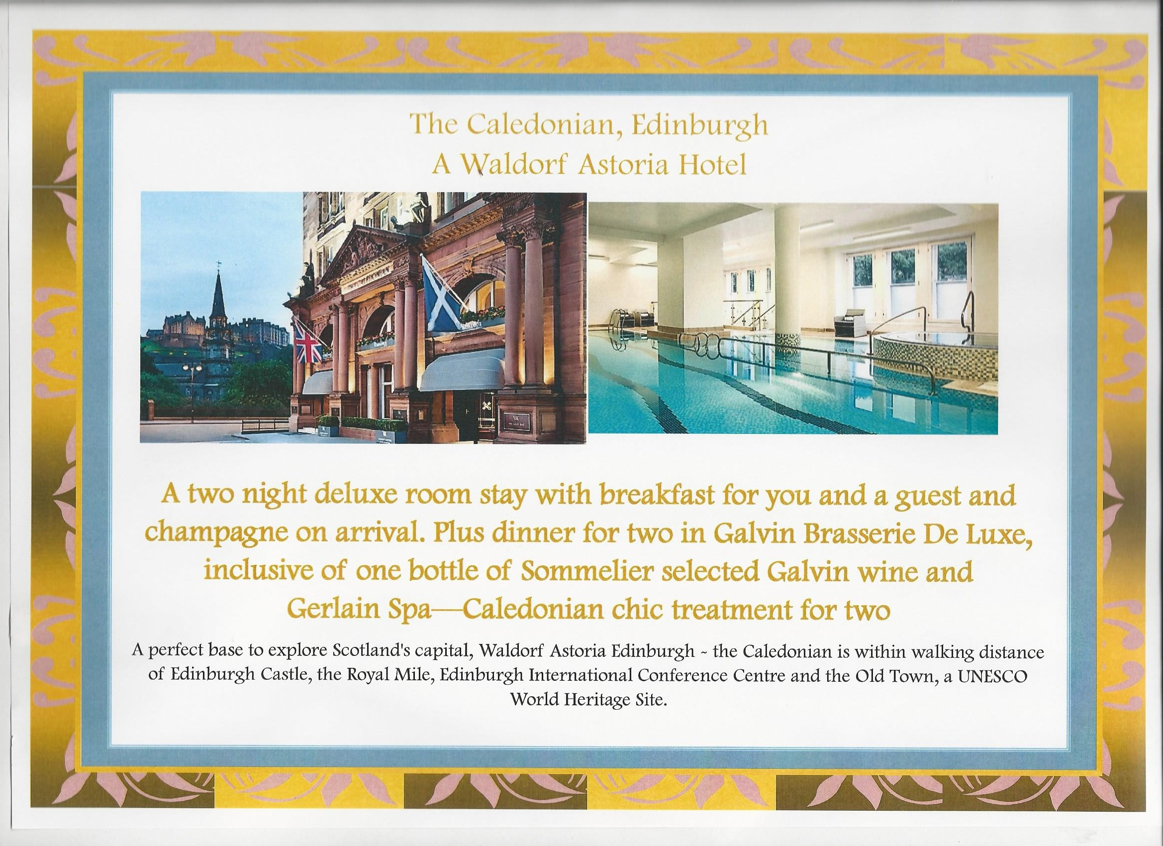 The Caledonian Edinburgh, a Waldorf Astoria hotel