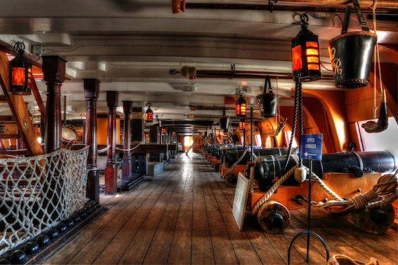 Private Tour of HMS Victory