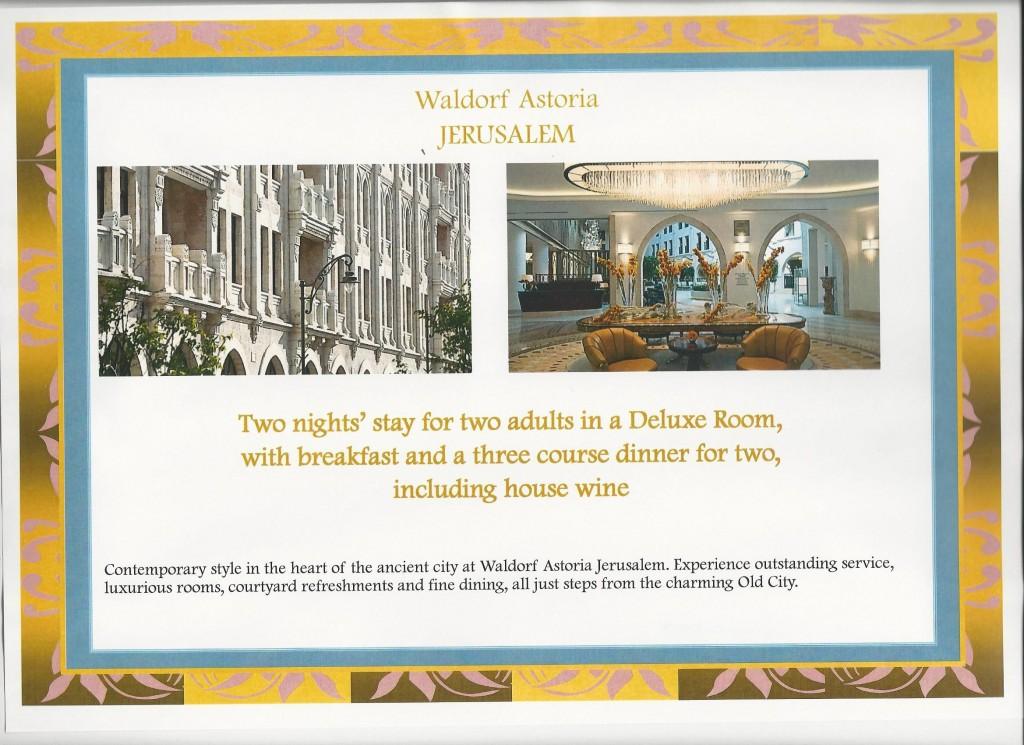 Square Events - Waldorf Astoria, Jerusalem