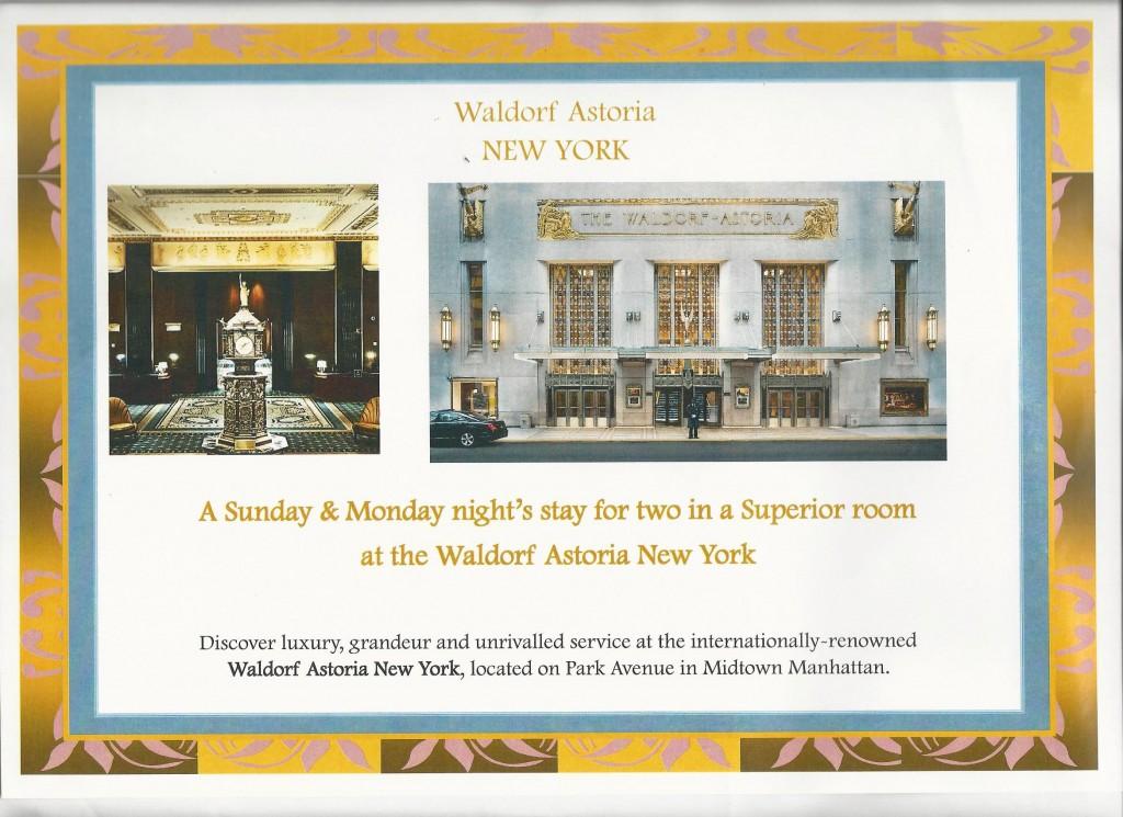 Square Events - Waldorf Astoria, New York