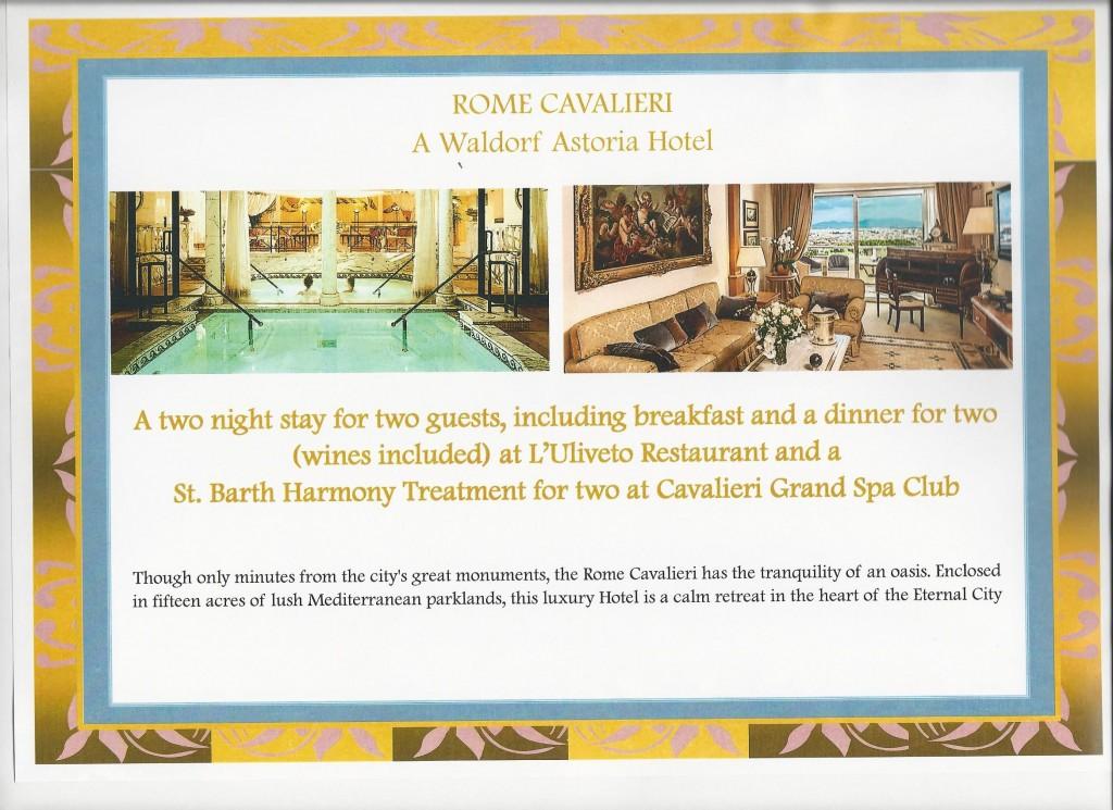 Square Events - Waldorf Astoria, Rome