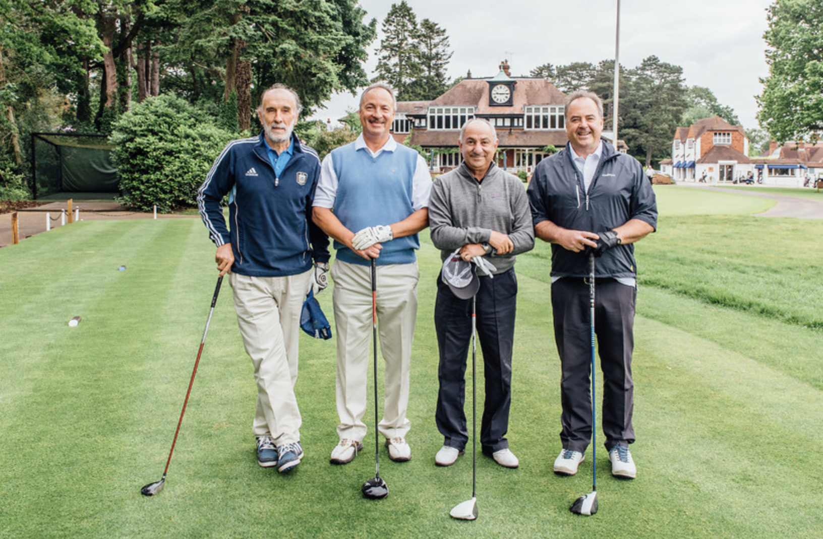 The Spurs Legends V's The 125 Club at Sunningdale Golf Club