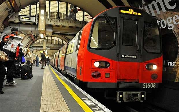 London Tube driver experience