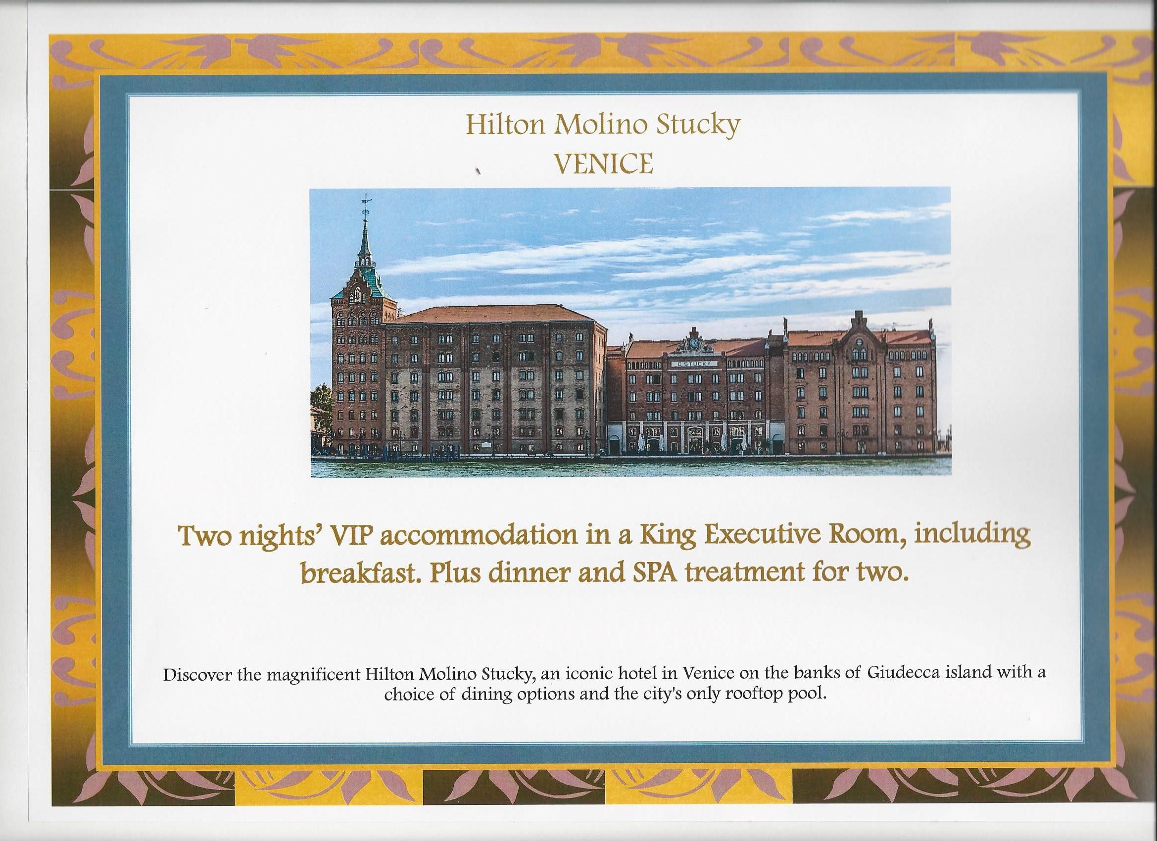 Hilton Molino Stucky, Venice