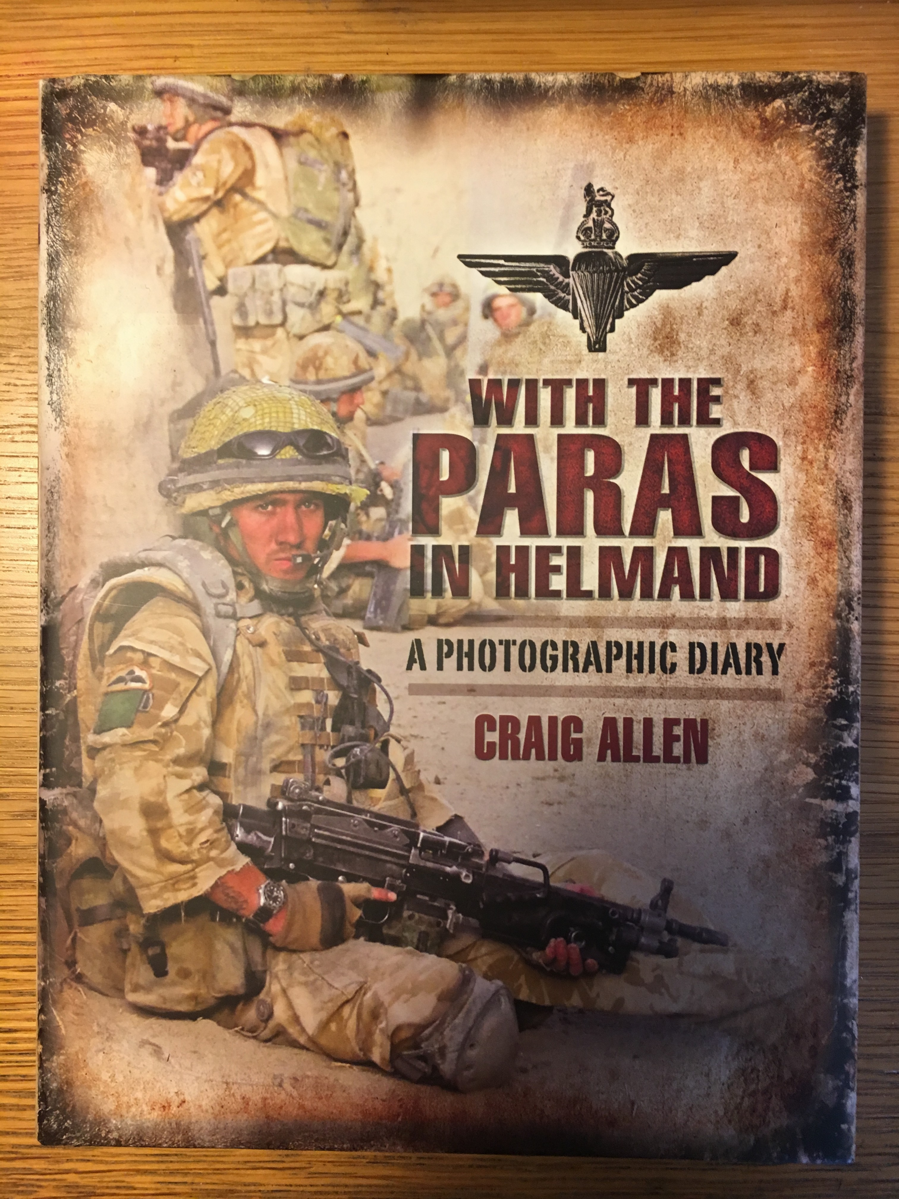 Collection of five signed books by Parachute Regiment authors