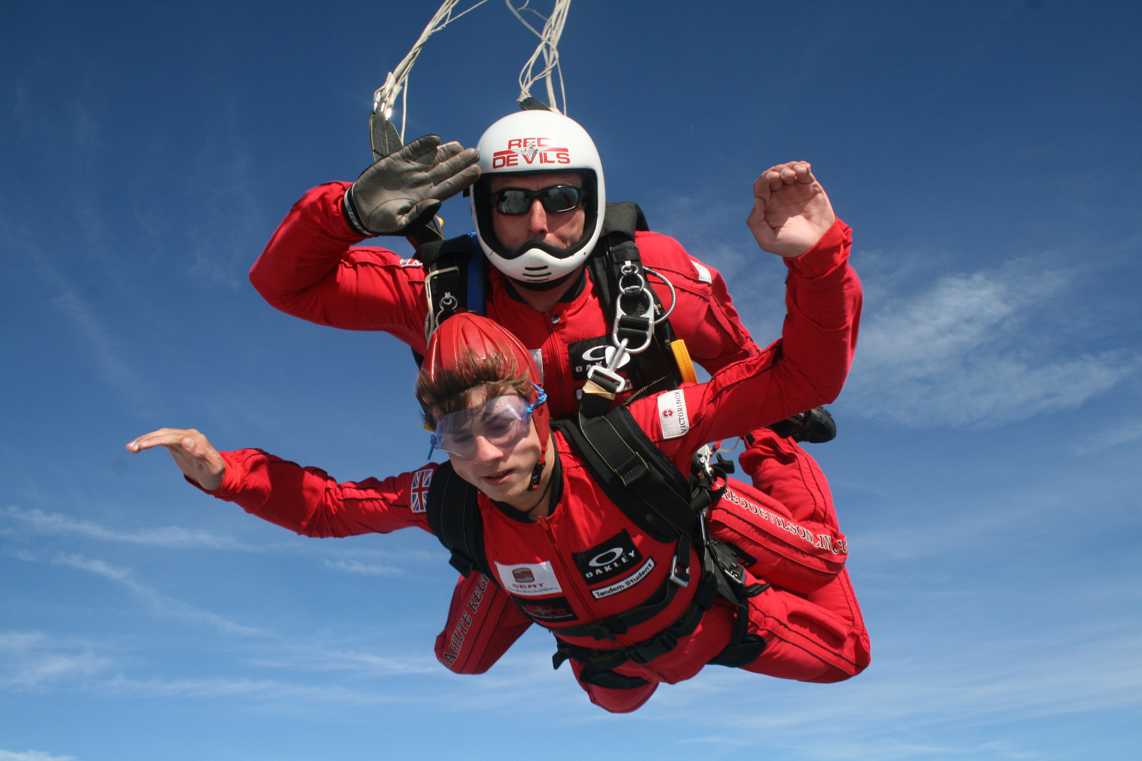 Red Devils Parachute Freefall Skydive for Two