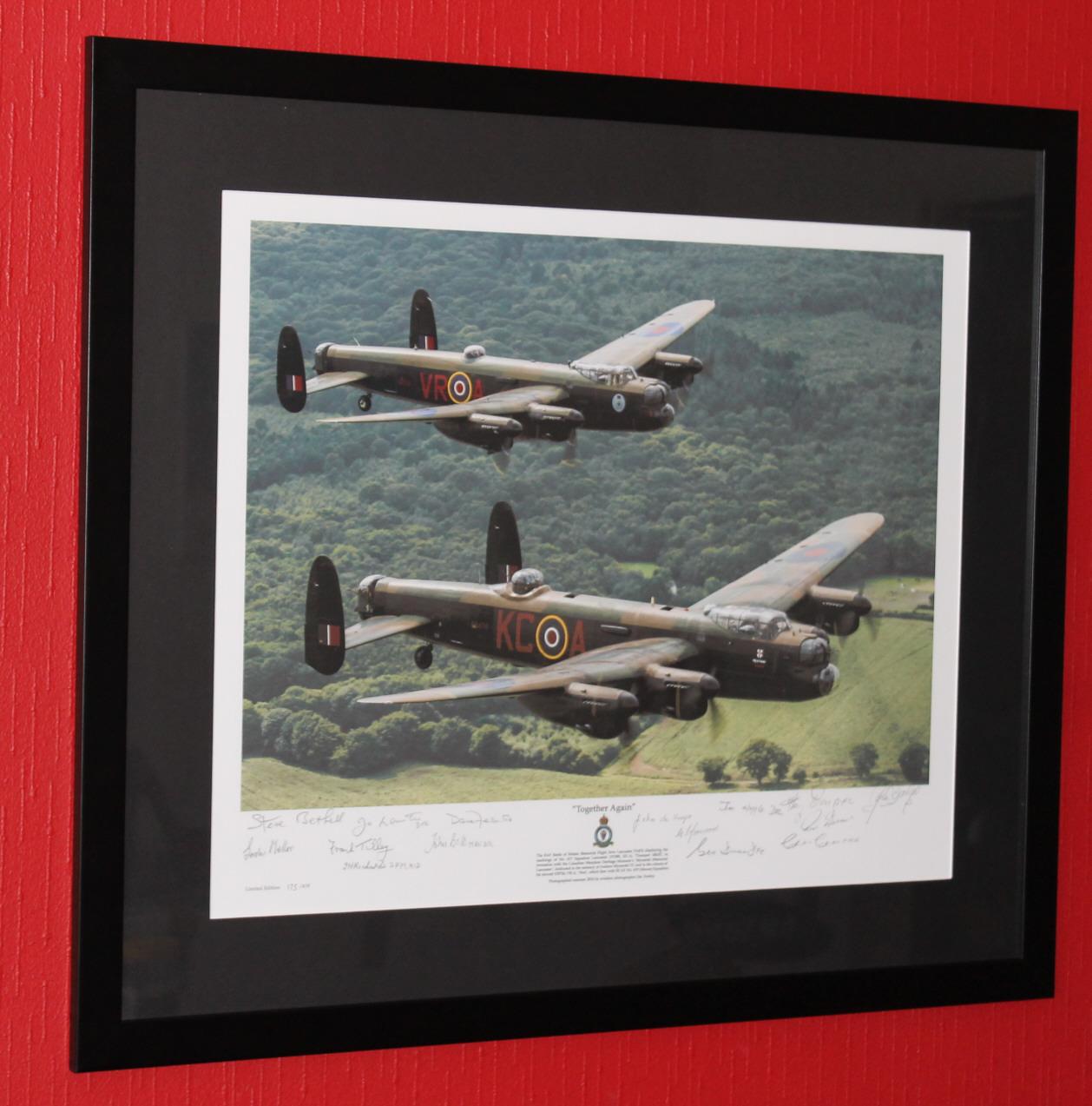 """""""Together Again""""  framed Lancaster Print"""