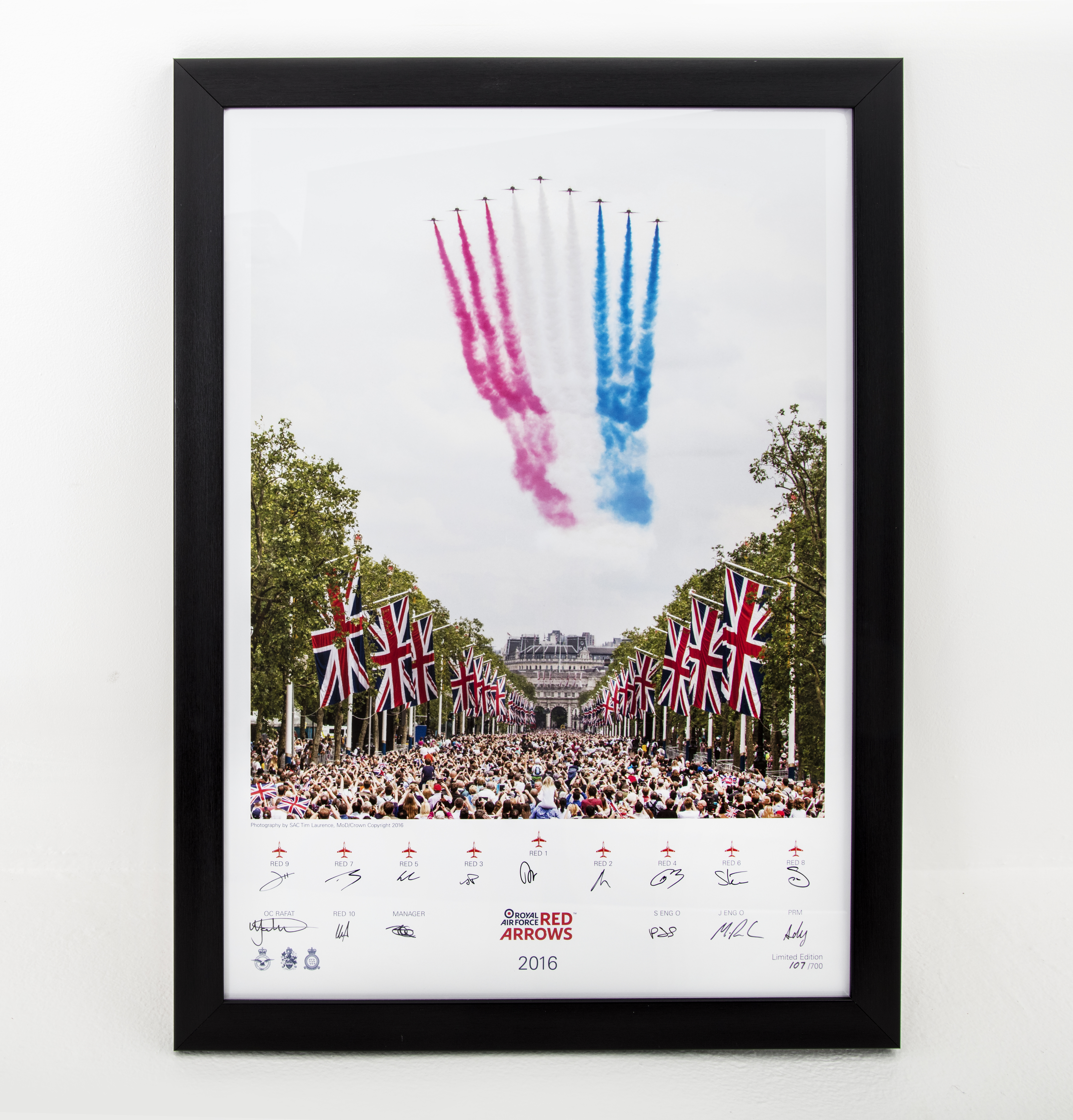 Red Arrows Limited Edition Print